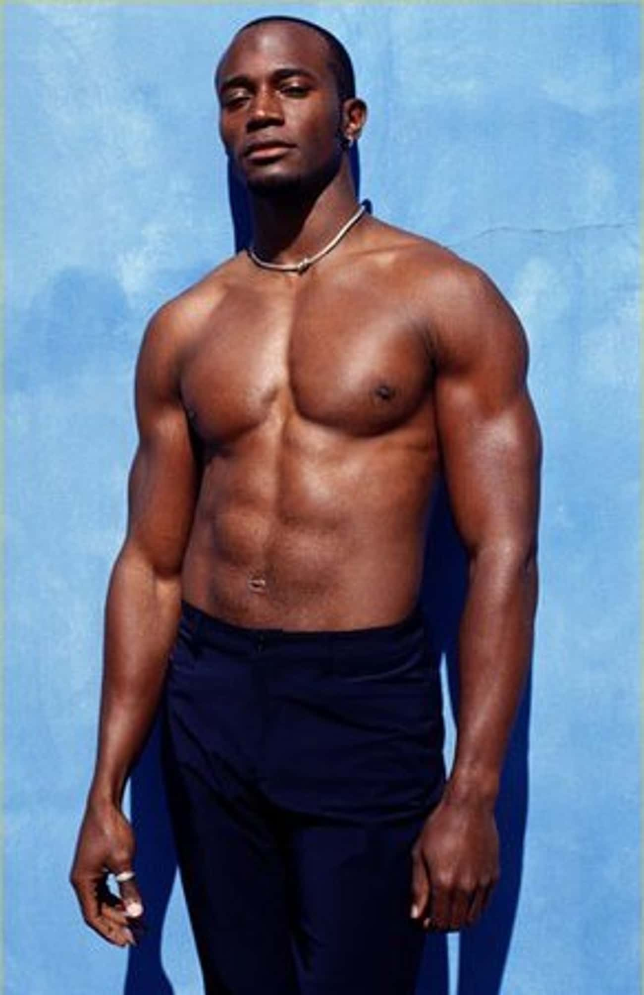 Taye Diggs in Shirtless with Slim Fit Jeans