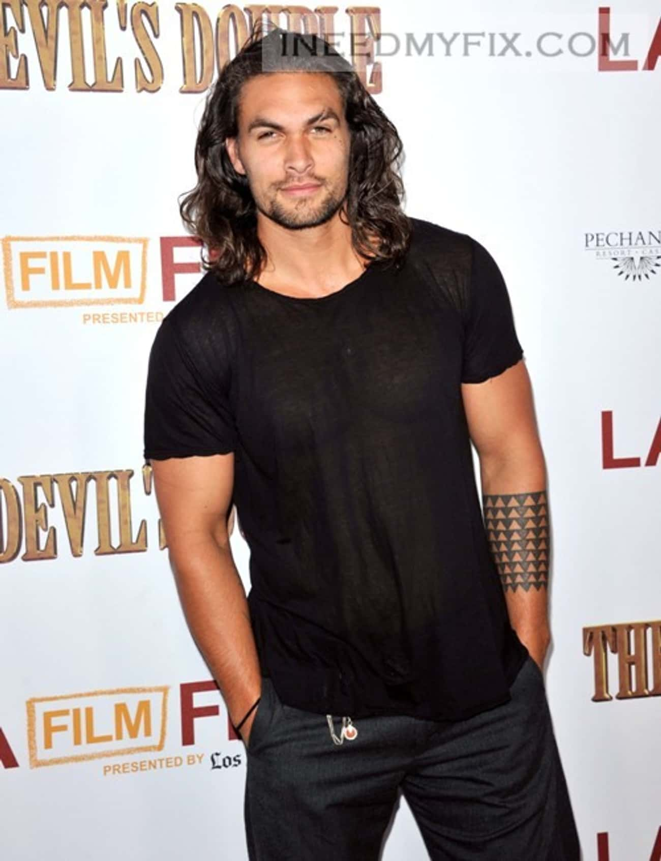 Jason Momoa in Pure Cotton Cre is listed (or ranked) 2 on the list Hot Jason Momoa Photos