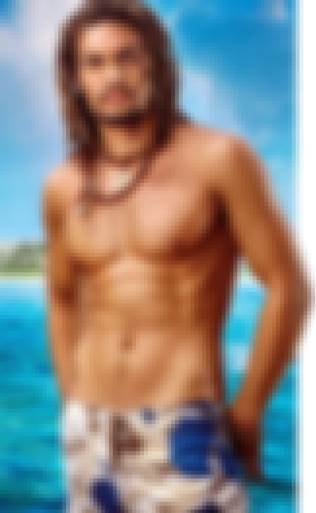 Jason Momoa in Camou Swimming ... is listed (or ranked) 3 on the list Hot Jason Momoa Photos