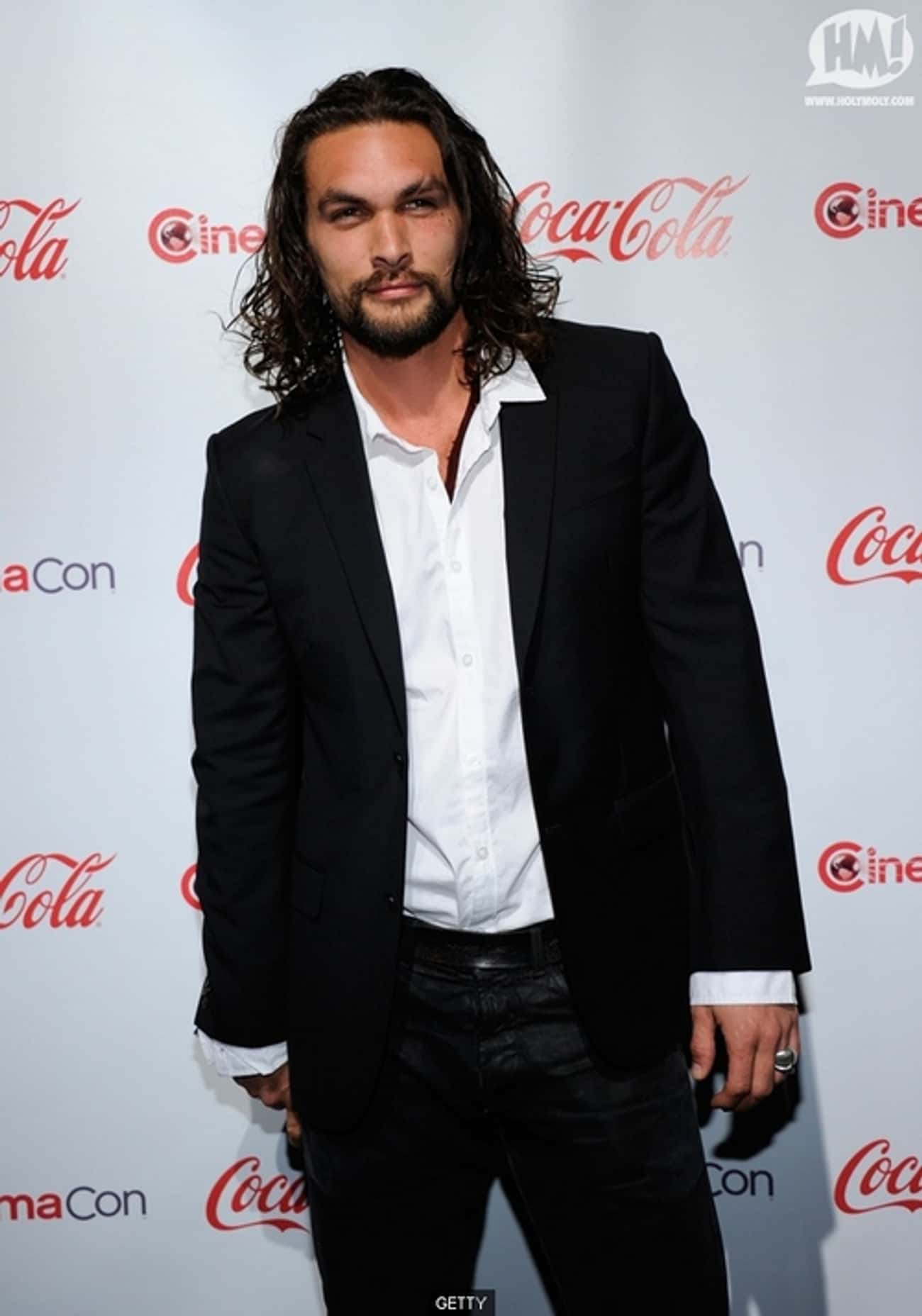 Jason Momoa in Black Tailored  is listed (or ranked) 3 on the list Hot Jason Momoa Photos