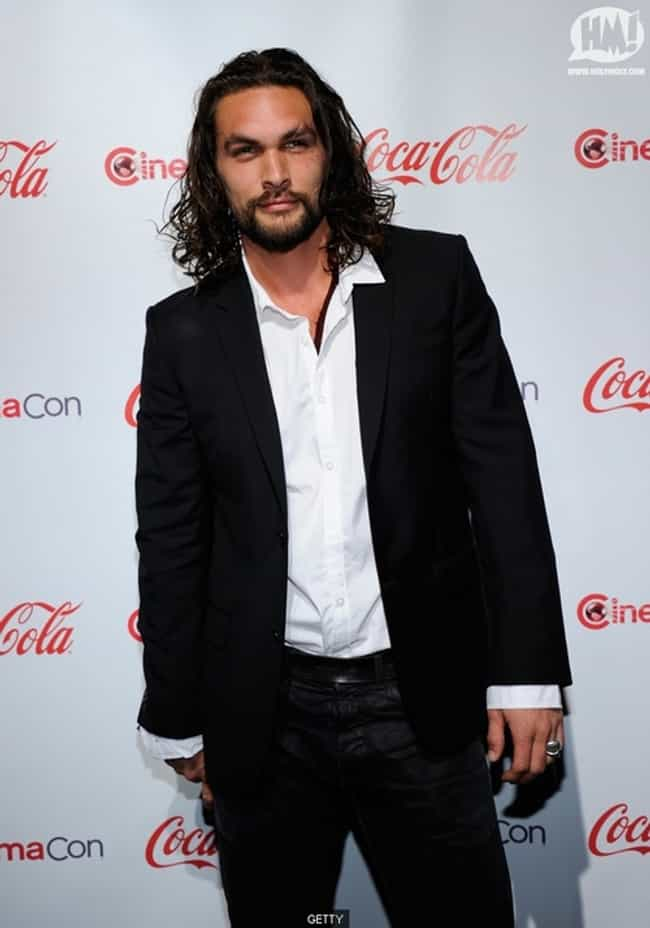 Jason Momoa in Black Tailored ... is listed (or ranked) 4 on the list Hot Jason Momoa Photos