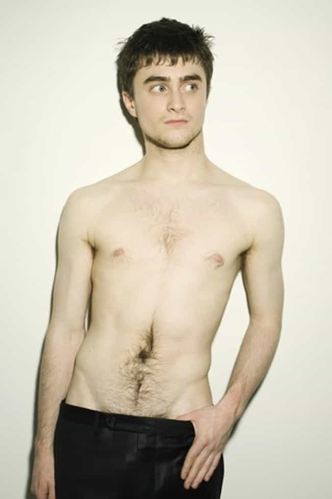 Daniel Radcliffe in Black Sati... is listed (or ranked) 4 on the list Hot Daniel Radcliffe Photos