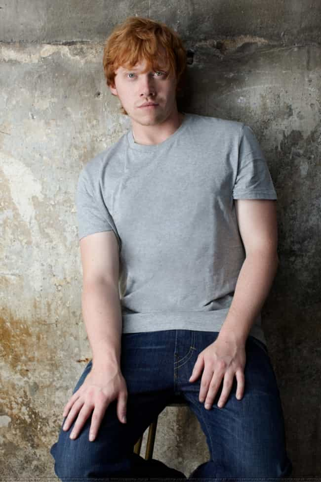 Rupert Grint in Crew Nec... is listed (or ranked) 1 on the list Hot Rupert Grint Photos