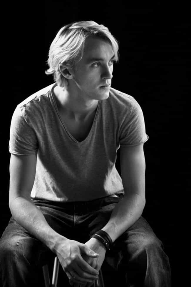 Tom Felton in V-Neck T-Shirt w... is listed (or ranked) 4 on the list Hot Tom Felton Photos