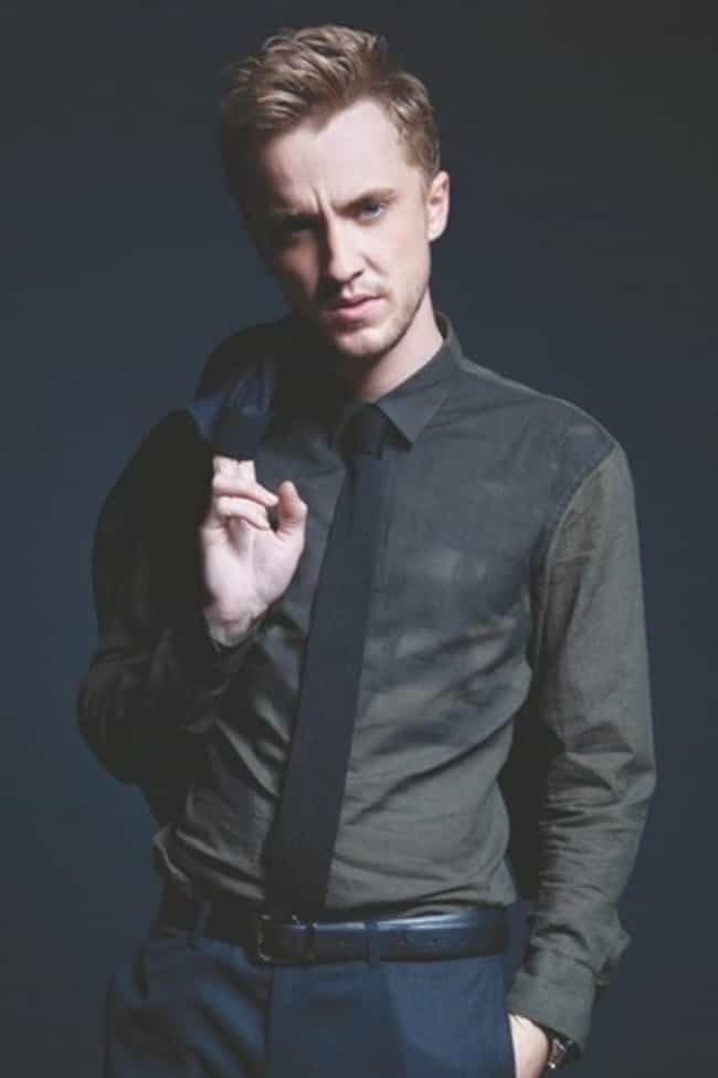 Tom Felton in Vintage Long Sle... is listed (or ranked) 2 on the list Hot Tom Felton Photos