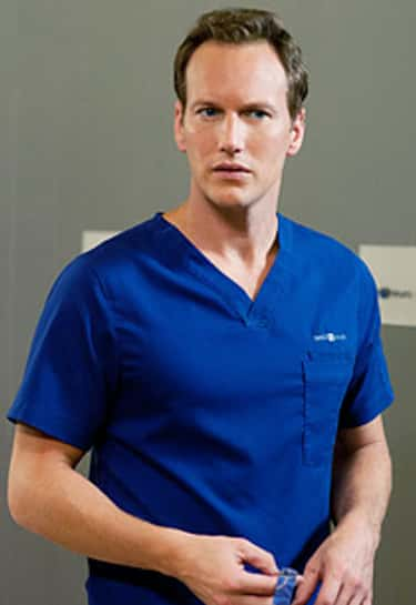 Patrick Wilson in Blue Scrub Suit