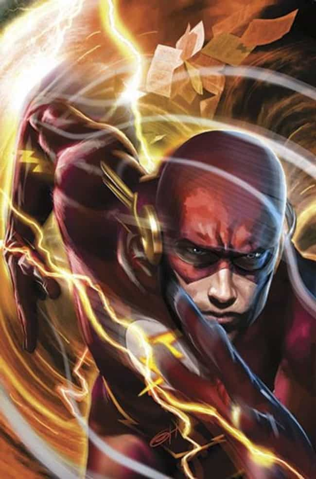 The Flash (Barry Allen) is listed (or ranked) 2 on the list The Top 10 Hottest Male Superheroes of DC