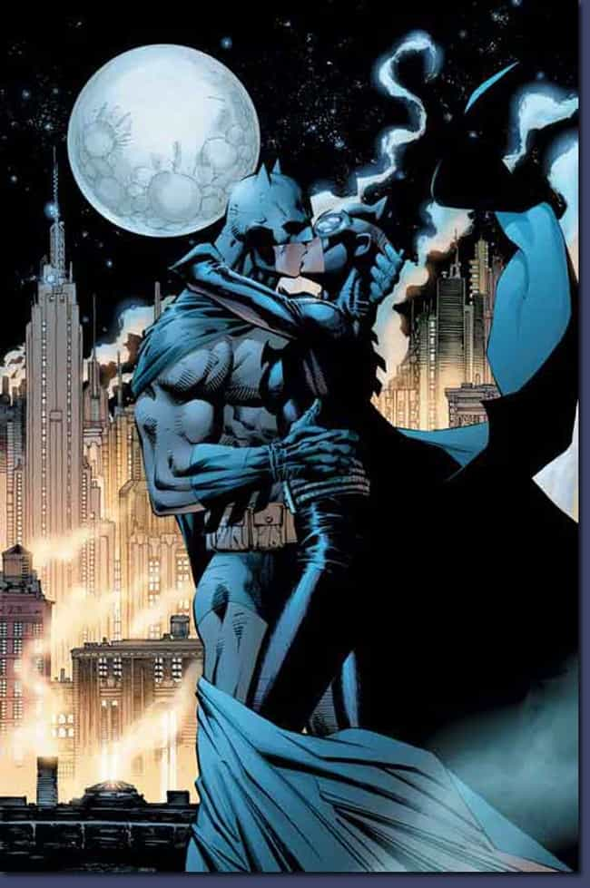 Batman and Catwoman (Bruce &am... is listed (or ranked) 1 on the list The Top 10 DC Romances