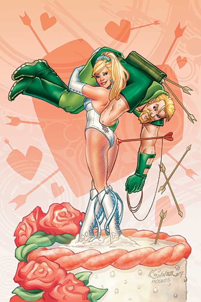 Green Arrow and Black Canary (... is listed (or ranked) 2 on the list The Top 10 DC Romances