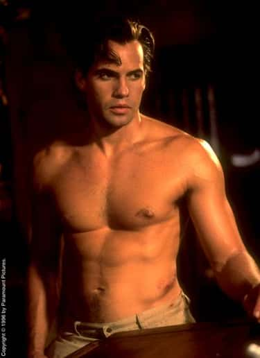 Billy Zane in Shirtless with Grey Trousers