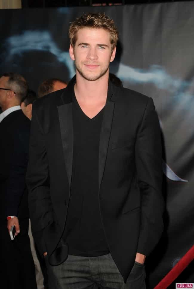 Liam Hemsworth in Satin Shawl ... is listed (or ranked) 4 on the list Hot Liam Hemsworth Photos