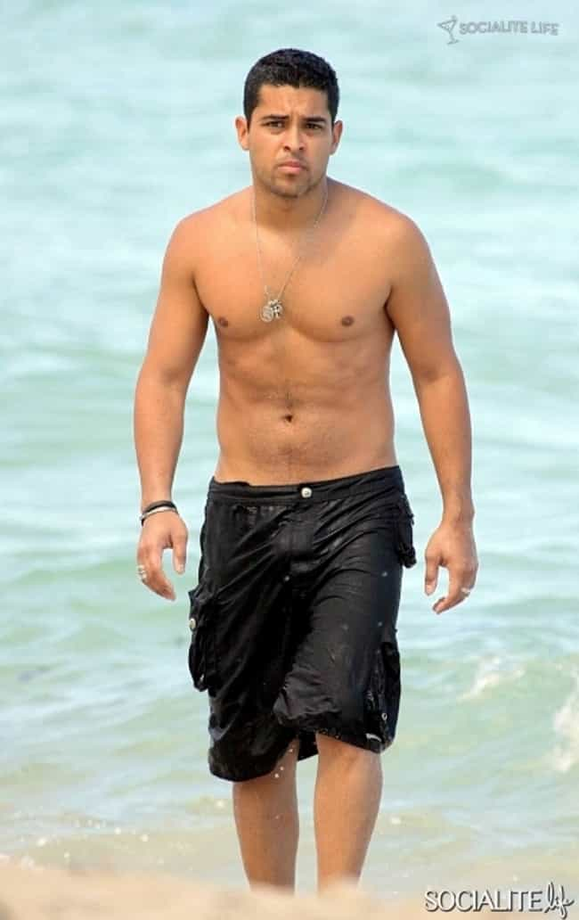 Wilmer Valderrama in Black Swi... is listed (or ranked) 4 on the list Hot Wilmer Valderrama Photos
