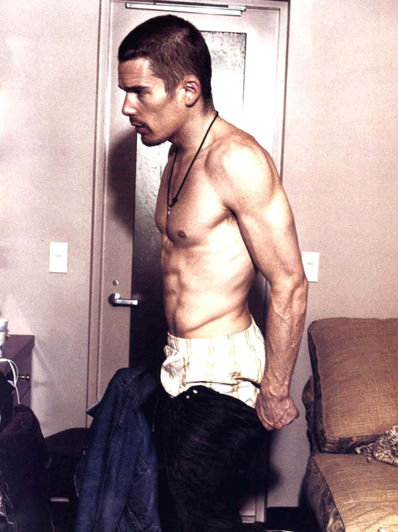 Ethan Hawke in Shirtless with Black Jeans