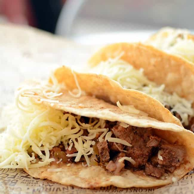 Crispy Tacos is listed (or ranked) 4 on the list Chipotle Recipes