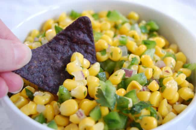 Corn Salad is listed (or ranked) 3 on the list Chipotle Recipes