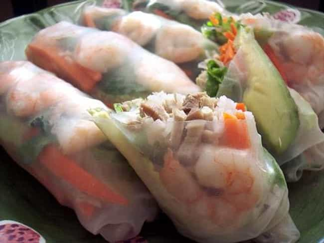 Vietnamese Shrimp Spring... is listed (or ranked) 3 on the list Elephant Bar Recipes