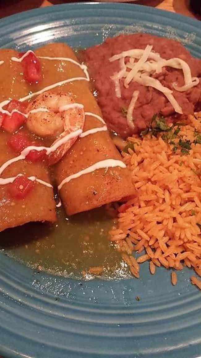 Shrimp Enchiladas is listed (or ranked) 4 on the list El Chico Cafe Recipes