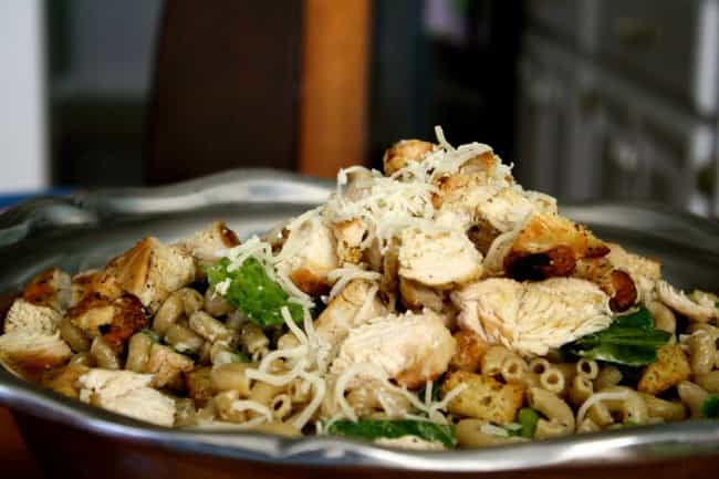 Chicken Caesar Pasta Sal... is listed (or ranked) 4 on the list Cheddar's Casual Cafe Recipes