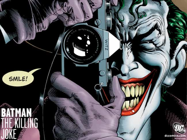 Batman: The Killing Joke... is listed (or ranked) 1 on the list The Best Stand-Alone & One Shot Comics Storylines
