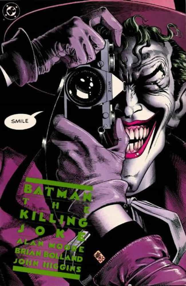 Batman: the Killing Joke is listed (or ranked) 1 on the list The Greatest Superhero Comic Book Covers of All Time