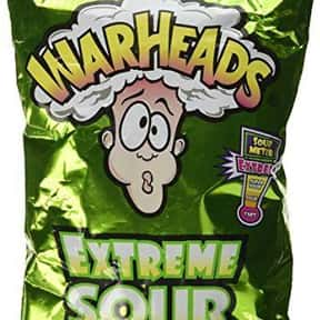 Warheads is listed (or ranked) 15 on the list '90s Snacks From Your Childhood You Had No Idea You Can Still Buy