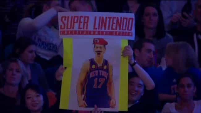 Super LINtendo is listed (or ranked) 2 on the list The Most Ridiculous Jeremy Lin Fan Signs