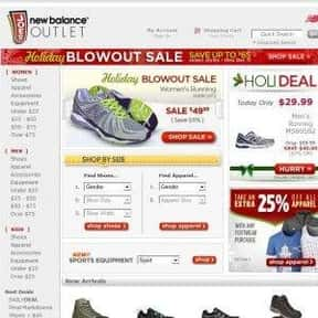 joesnewbalanceoutlet.com is listed (or ranked) 8 on the list The Best Running Shoe Stores Online