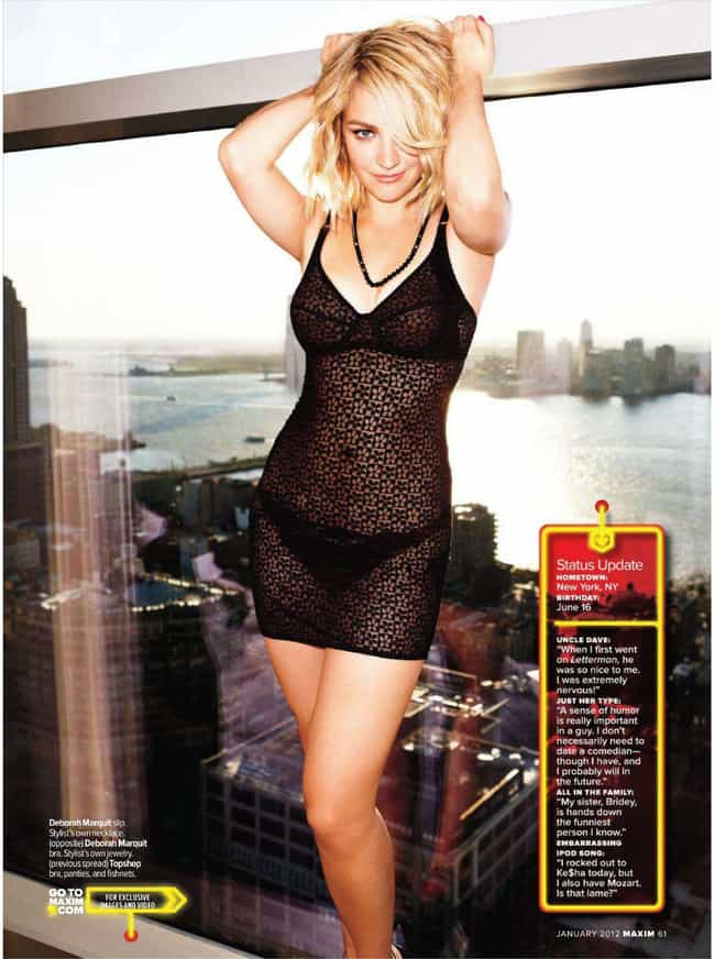 Abby Elliott in Lacey Night Dr... is listed (or ranked) 2 on the list Hottest Abby Elliott Photos