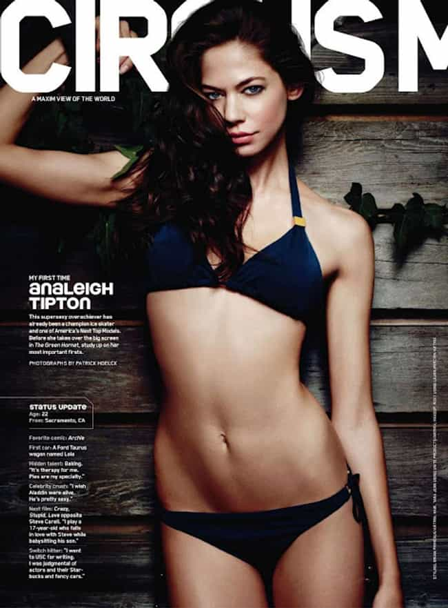 Analeigh Tipton Usually Shows ... is listed (or ranked) 2 on the list The Hottest Analeigh Tipton Photos