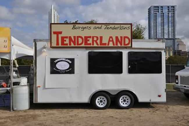 Tenderland is listed (or ranked) 4 on the list The Best Austin Food Trucks