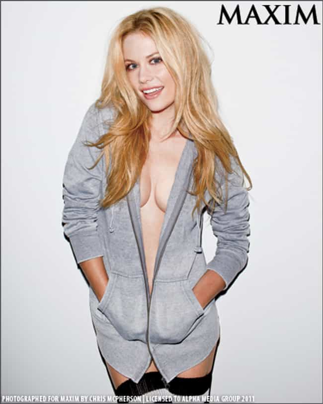 Claire Coffee in Grey Hooded J... is listed (or ranked) 3 on the list Hottest Claire Coffee Photos