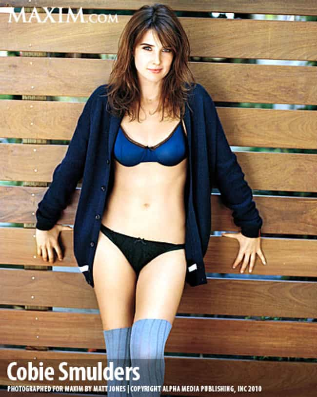 Cobie Smulders Lying Down on a... is listed (or ranked) 4 on the list The Hottest Cobie Smulders Pictures of All Time