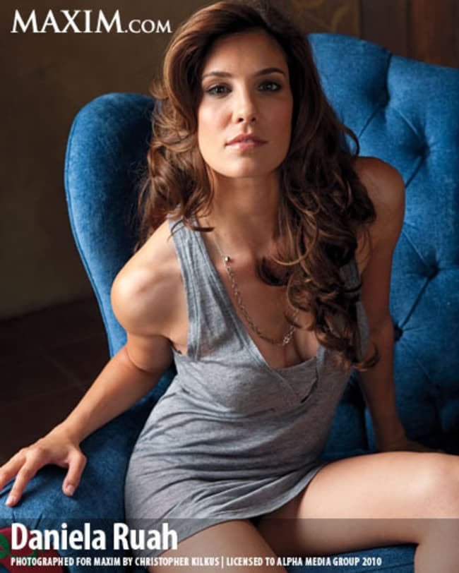 Daniela Ruah Up In Your Grill