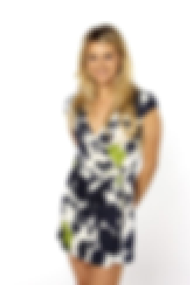Eliza Coupe in Printed Wrap Dr... is listed (or ranked) 4 on the list Hottest Eliza Coupe Photos