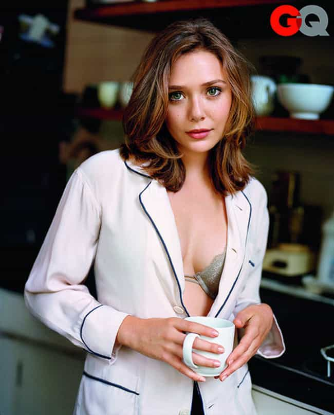Coffee is a Formal Thing For E... is listed (or ranked) 1 on the list The 28 Most Stunning Photos of Elizabeth Olsen