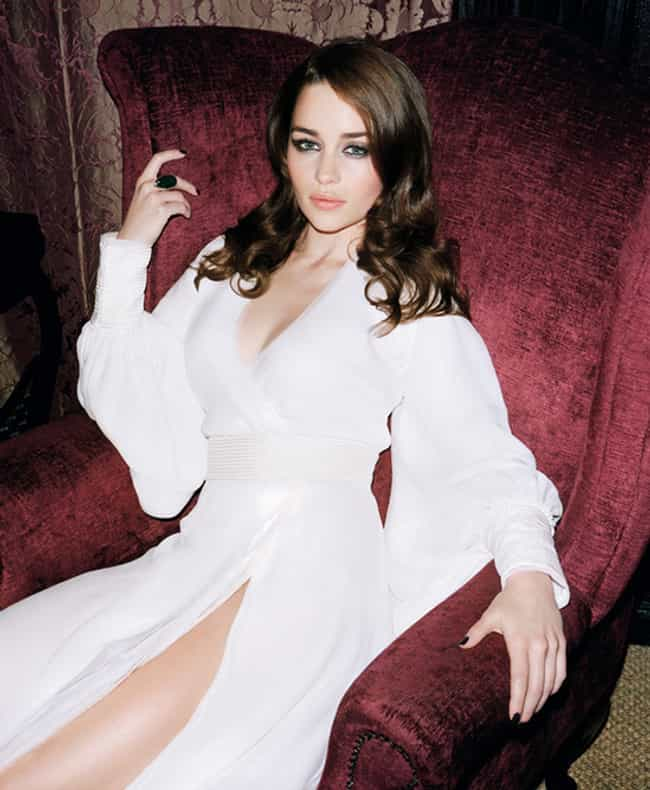Emilia Clarke on a Throne (LIK... is listed (or ranked) 3 on the list The 29 Hottest Emilia Clarke Pictures Ever