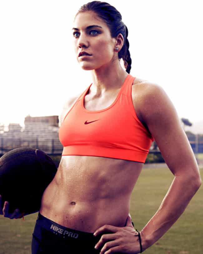 Hope Solo is Secretly a Rugby ... is listed (or ranked) 4 on the list The 25 Hottest Hope Solo Photos