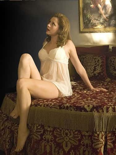 Jenna Fischer in Lace and Mesh is listed (or ranked) 2 on the list The Most StunningPhotos OfJenna Fischer