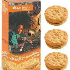 Do-Si-Dos Peanut Butter Sandwi is listed (or ranked) 5 on the list The Most Delicious Girl Scout Cookies, Ranked