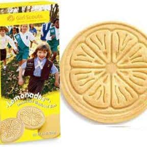 Lemonades is listed (or ranked) 6 on the list The Most Delicious Girl Scout Cookies, Ranked