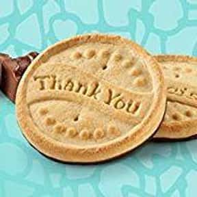 Thanks-A-Lot is listed (or ranked) 9 on the list The Most Delicious Girl Scout Cookies, Ranked