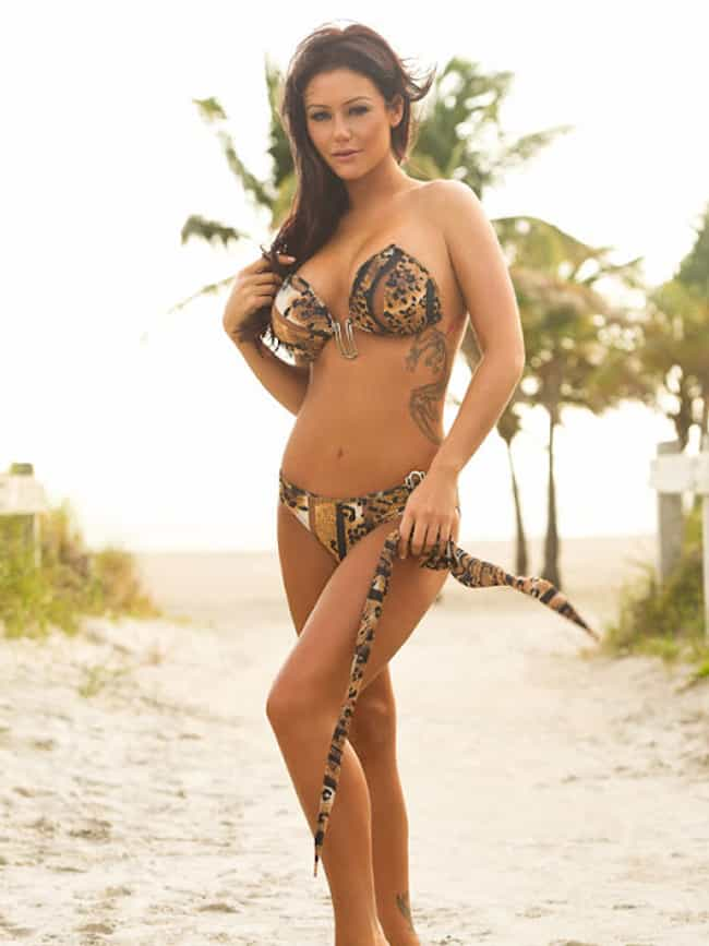 JWOWW in Animal Print Straples... is listed (or ranked) 4 on the list The 27 Hottest JWOWW Photos of All Time