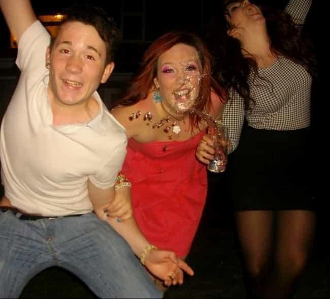 """WOOOOOOOO!!!"" is listed (or ranked) 2 on the list The Greatest Party Foul Photos in Internet History"