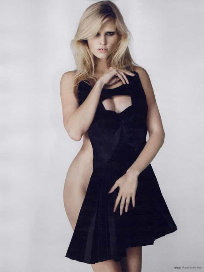 Lara Stone in Skater Dress Cov... is listed (or ranked) 2 on the list Hottest Lara Stone Photos