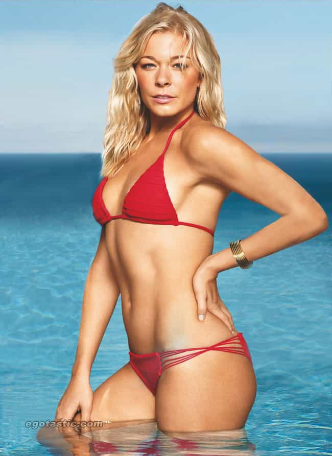 LeAnn Rimes in Triangle Bikini... is listed (or ranked) 2 on the list Hottest LeAnn Rimes Photos