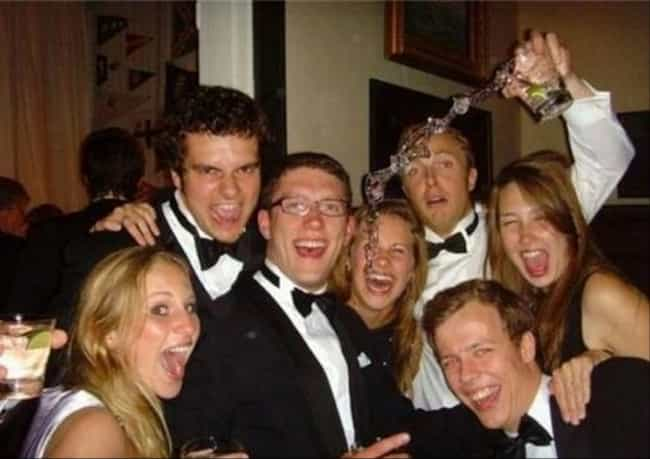 The Guy on the Left Looks FIER... is listed (or ranked) 4 on the list The Greatest Party Foul Photos in Internet History