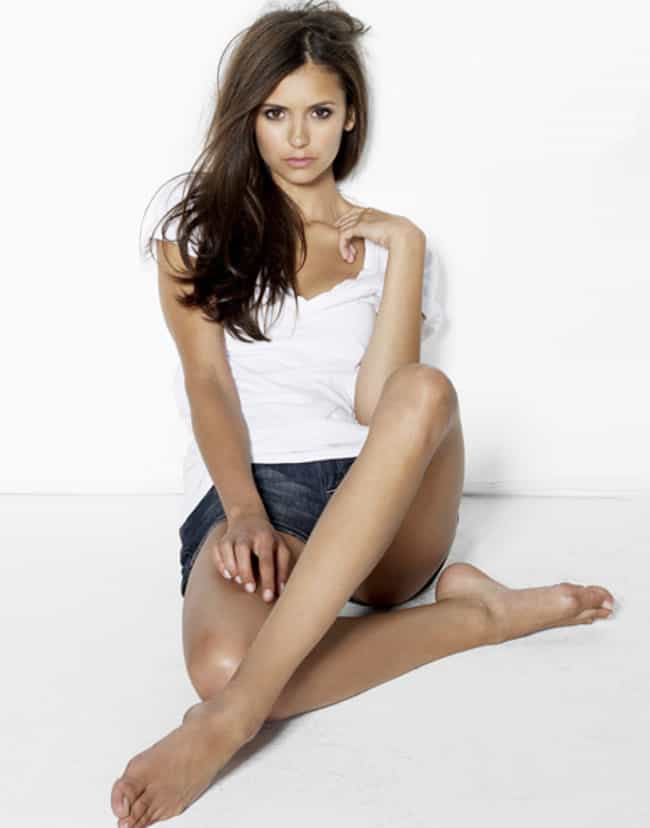 Nina Dobrev Can Into a Pretzel... is listed (or ranked) 4 on the list The 27 Hottest Nina Dobrev Photos