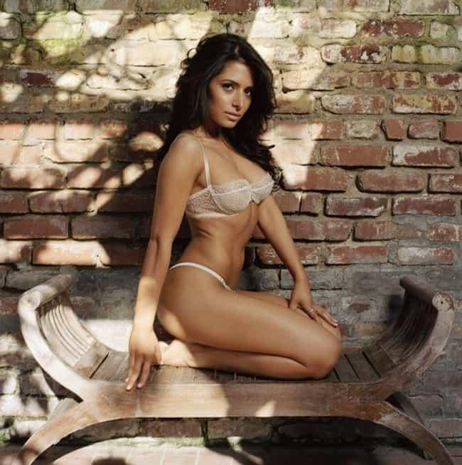 Sarah Shahi in Tease Me Lace B... is listed (or ranked) 3 on the list The Hottest Sarah Shahi Photos