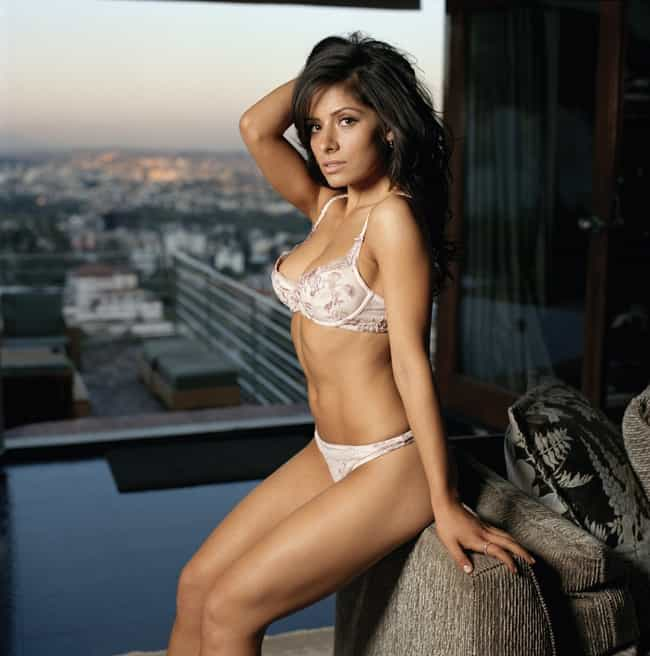 Sarah Shahi in Trim Lace Boost... is listed (or ranked) 1 on the list The Hottest Sarah Shahi Photos