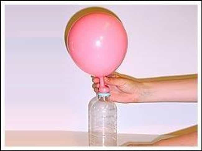 Self Inflating Balloon is listed (or ranked) 4 on the list Easy Science Projects Using Household Items
